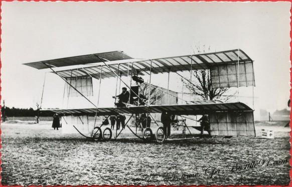 l'histoire de l'aviation - Avril 1909 - Le Farman