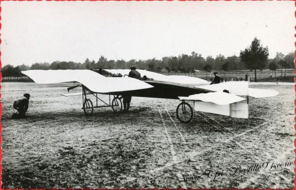 Histoire de l'aviation - En 1908 Le De Pischoff et Koechlin