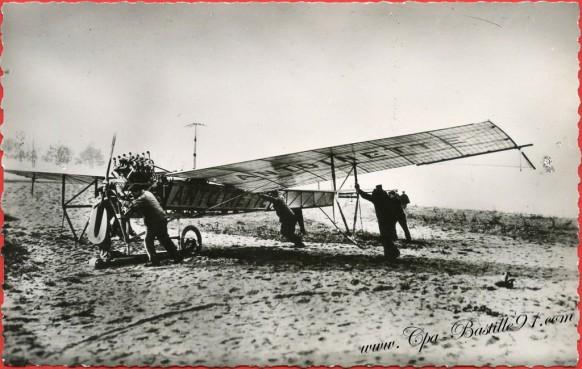 l'Histoire de l'Aviation l'Aéroplane Antoinette 5