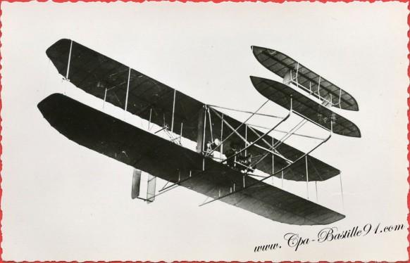 histoire-de-laviation-En-1908-le-fameux-Wright-qui-pulvérisa-tous-les-records-à-Auvours-