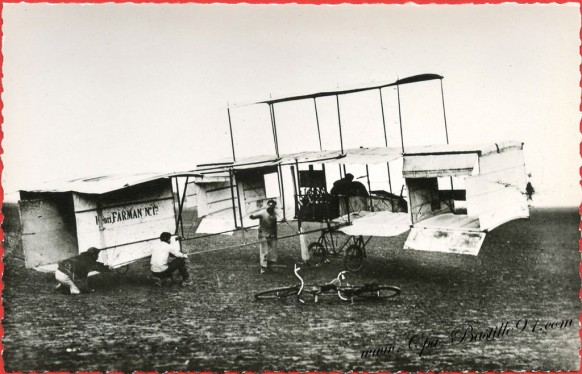 l'Histoire de l'Aviation - Le Triplan de Henri Farman