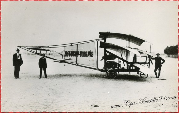 Histoire de l'Aviation - 1909 - Le Bousson-Borgnis