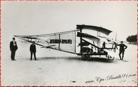 Histoire de l'Aviation - 1909 - Le Bousson-Borgnis