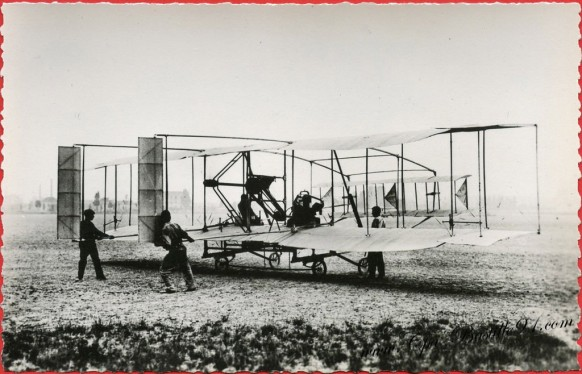 l'Histoire de l'Aviation de Ader à 1910 - Le-Biplan Germe