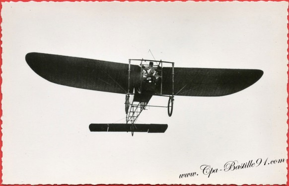 Histoire de l'aviation - Le 25 juillet 1909 le bleriot de la première traversé de la Manche