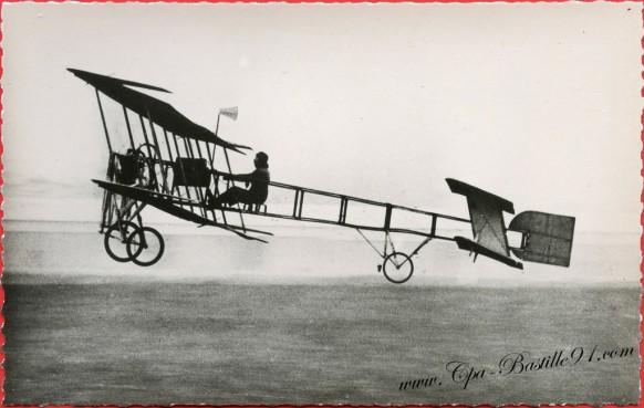 l'Histoire de l'Aviation - En 1909 à Juvisy - Le Biplan Goupy