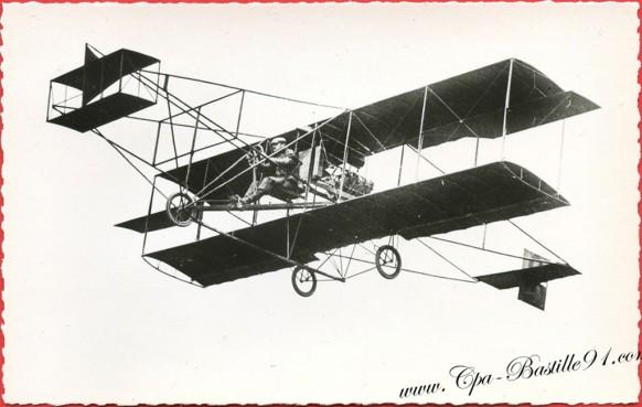 Histoire de l'Aviation En 1909 à Reims - Curtiss vainqueur de la premiére coupe Gordon-Bennet