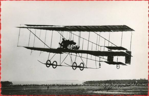 Histoire de l'Aviation - En 1909 Henri Farman est Le Grand Vainqueur du premier-meeting de Reims