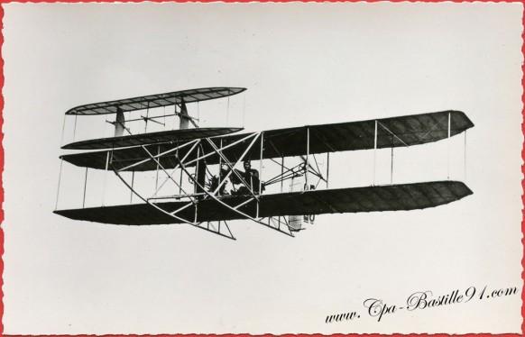 Histoire de l'Aviation - 1909 l'aéroplane Wright d'Eugène Lefebvre