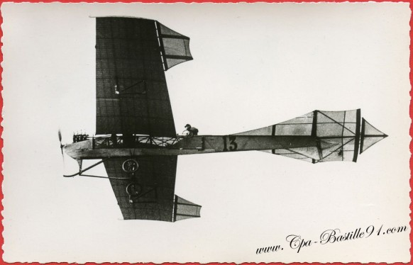 l'Histoire de l'Aviation - En 1909 l'Antoinette d'Hubert Latham