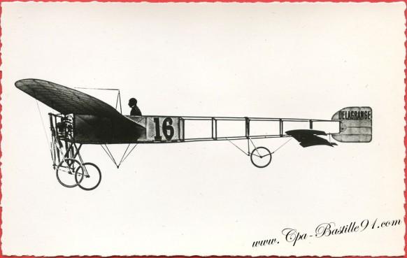 l'histoire de l'aviation de Ader à 1910 - le Bleriot de Delagrange