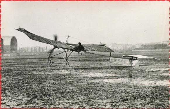 Histoire de l'aviation - Le 10 Décembre 1909 à Issy-les-Moulineaux le Monoplan Vendome