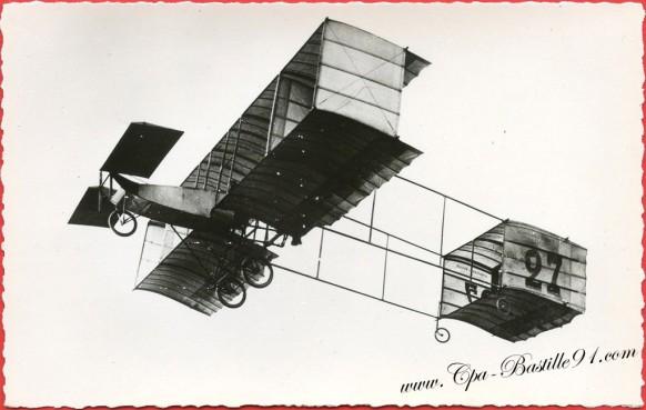 l'Histoire de l'Aviation de Ader à 1910 - Le Voisin en 1909