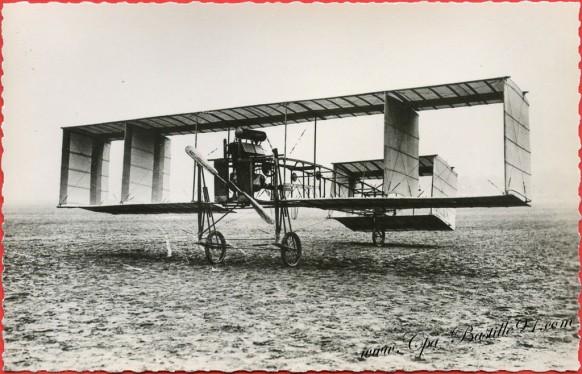 Histoire de l'Aviation -Septembre 1909 - Le Voisin nouveau type