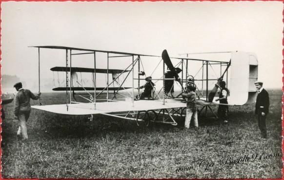 Histoire de l'aviation de Ader à 1910 - Septembre 1909 - Le biplan Chapiro