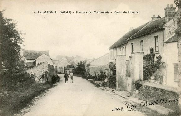 Le Mesnil - Hameau de Marcoussis - Route du Bouchet