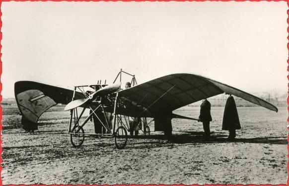 Histoire de l'Aviation - 1910 - Le monoplan La Frégate de Robert de Lesseps