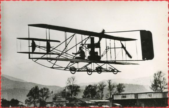 Histoire de l'Aviation de Ader à 1910 - Le biplan Wright de Baratoux