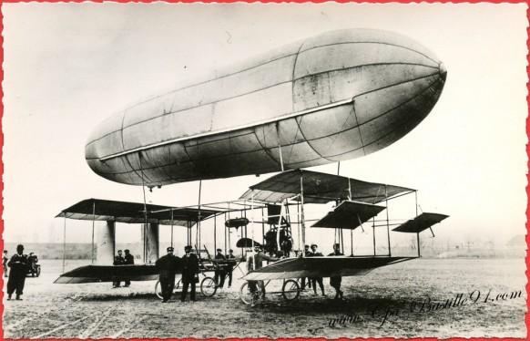 Histoire de l'aviation - Le biplan mixte Cesar de 1910