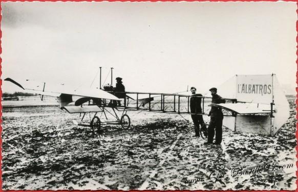 Histoire de l'aviation de Ader à 1910 -l'Albatros du Prince de Nissole