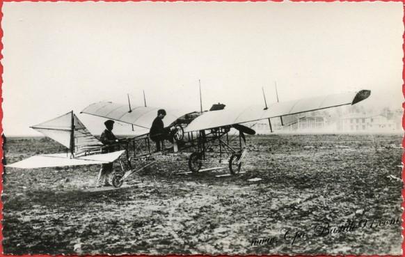 Histoire de l'Aviation - Janvier 1910 l'Aéroplane Monoplan Barillon