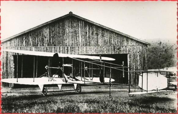 Histoire de l'Aviation - Janvier 1910 - l'aéroplane Rossel Peugeot