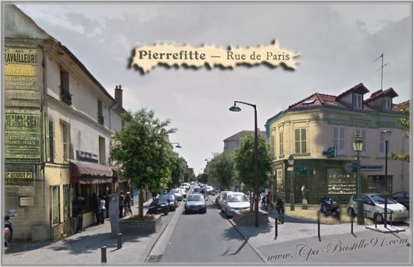 Pierrefitte-rue-de-Paris-dhier-à-Aujourdhui