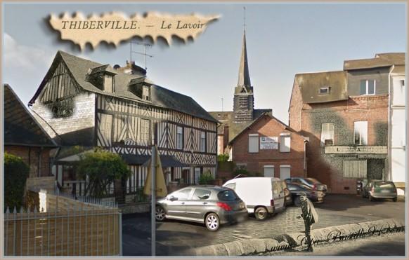 Thiberville-Le-lavoir-dhier-à-Aujourdhui-