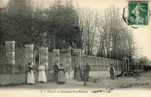 Hôpital de Forges les bains - Route de Forges