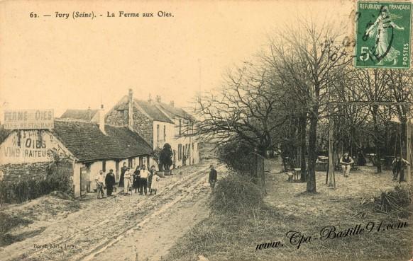 Carte Postale Ancienne - Ivry sur Seine - La Ferme aux Oies
