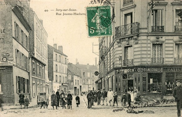 Carte Postale Ancienne -Ivry sur Seine - Rue Jeanne Hachette