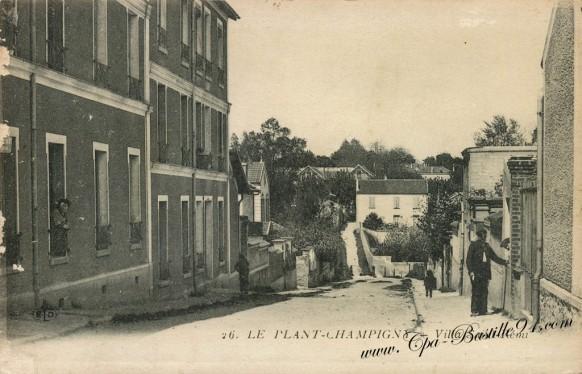 Carte Postale Ancienne - Le Plant Champigny - Villa Saint Rémy