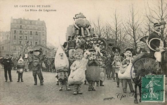 Le Carnaval de Paris - La noce de légumes