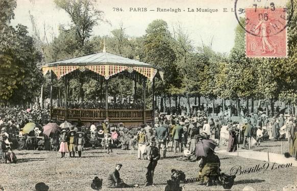 Carte Postale Ancienne - Paris - Ranelagh - La Musique