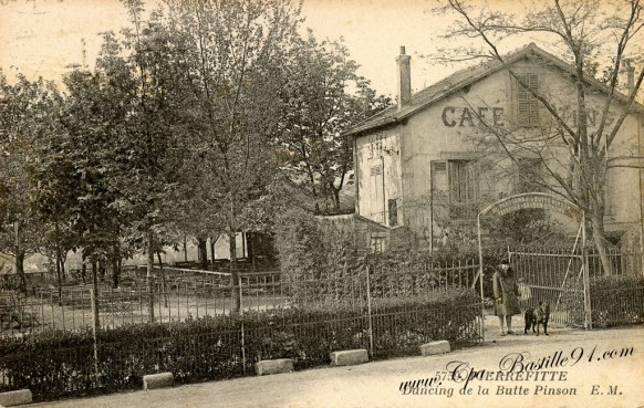 Carte Postale Ancienne - Pierrefitte sur Seine - Dancing de la Butte Pinson
