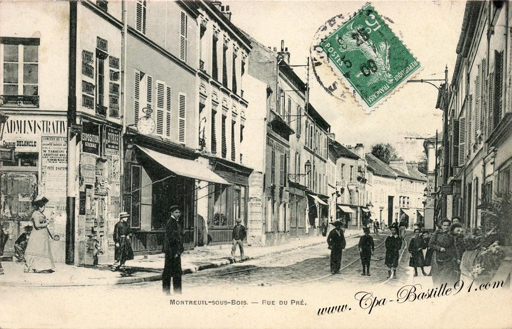 93  Cartes Postales Anciennes ~ Commissariat De Montreuil Sous Bois