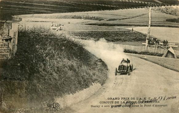 Grand Prix de l'ACF circuit de la Seine inférieure - Le pilote Duray
