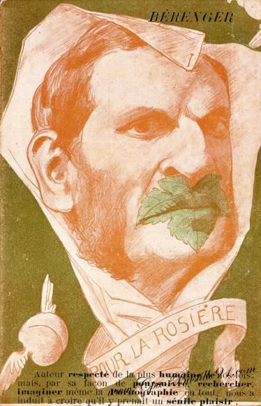 Carte Postale Ancienne - Illustrateur Pierre Fracasse - Berenger le père la pudeur