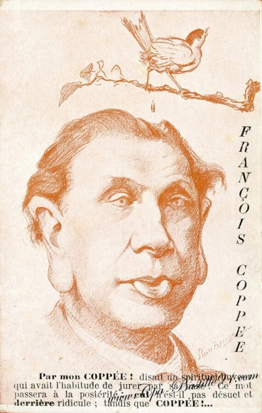Carte Postale Ancienne - Francois COPPÉE par l'Illustrateur Pierre Fracasse