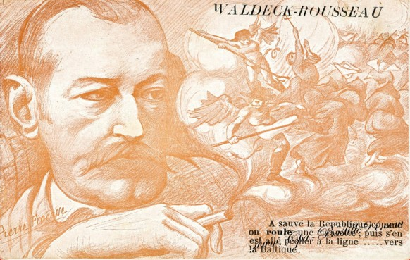 Carte Postale Ancienne - Illustrateur Pierre Fracasse - Waldeck Rousseau