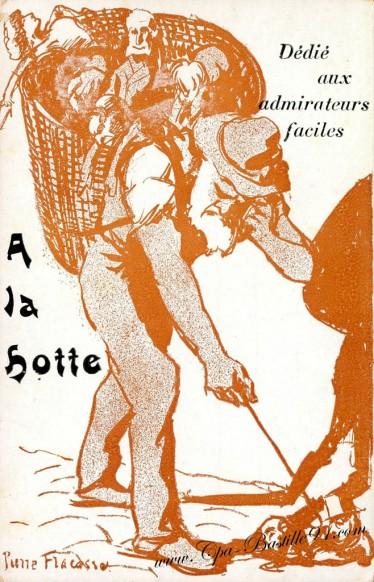 Carte Postale Ancienne de l'Illustrateur Pierre Fracasse dédié aux admirateurs faciles