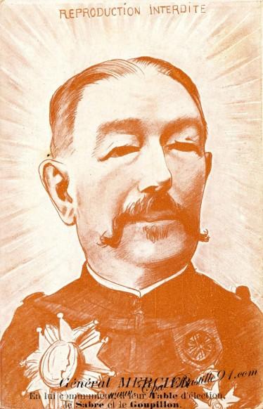 Carte Postale Ancienne - Illustrateur Pierre Fracasse - Le général Mercier