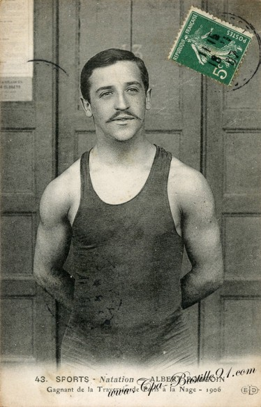 Carte Postale Ancienne - Sports - Natation - Albert Bougoin