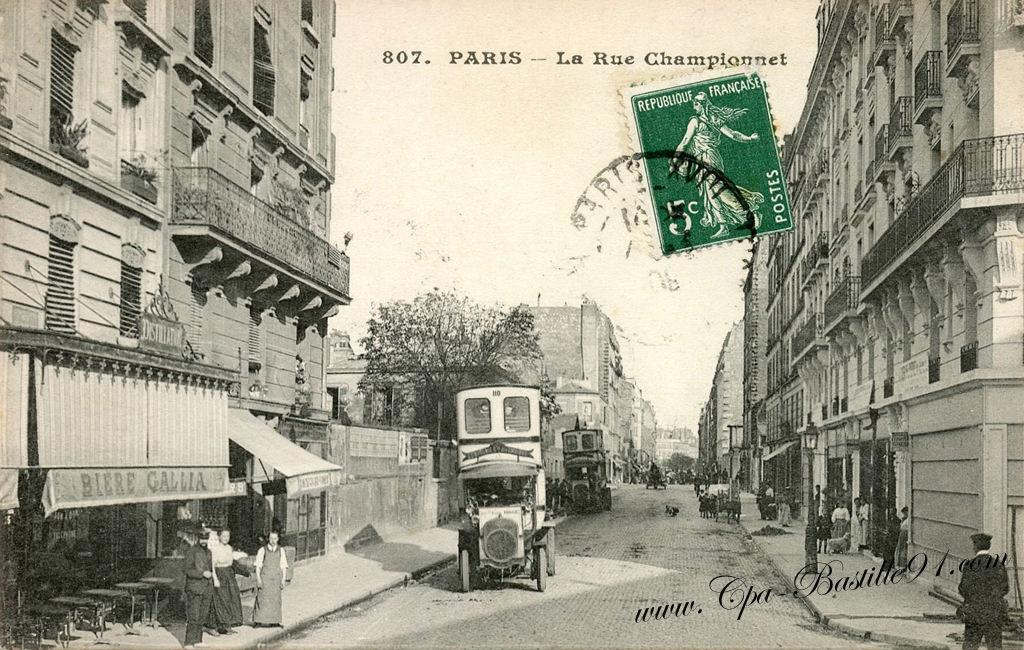 Cafe Rue La Rue Menu