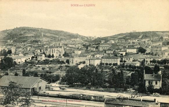 Carte-postale-Ancienne-Boen-sur-Lignon