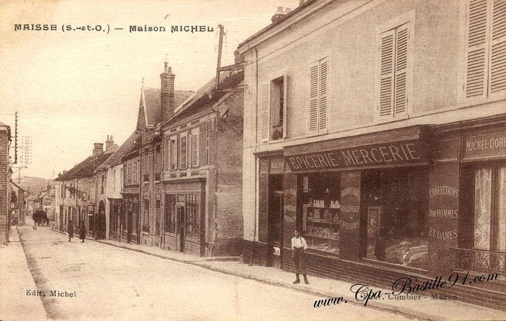 Montage photo carte postale cartes postales anciennes for Ancienne maison close paris