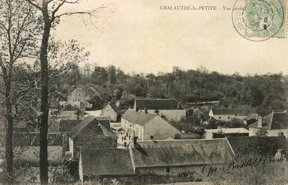 Vue Générale de Chalautre la Petite en 1900