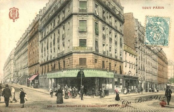 Tout Paris XVIII arrondissement - rues Simart et de Clignancourt
