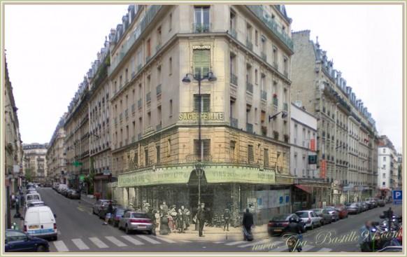 Paris-La-rue-Simart-dhier-à-aujourdhui