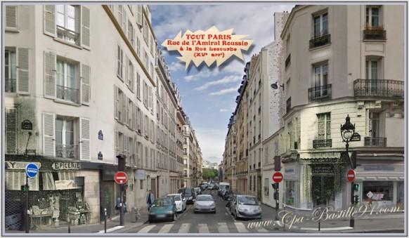 Paris XV - La rue de l'amiral Roussin d'hier à aujourd'hui